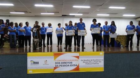 AÇÃO SOCIAL REALIZA CONFERÊNCIA MUNICIPAL DO IDOSO